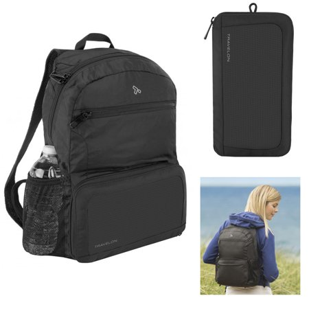 Travelon Anti-Theft Active Packable Backpack Travel RFID Lightweight Back