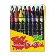 Dixon Ticonderoga Prang 24 Count Wax Crayons 00400