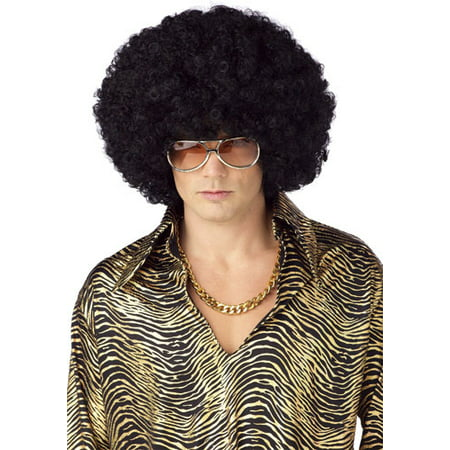 Jumbo Afro Wig for Adult Halloween Costume - Rainbow Afro Wig