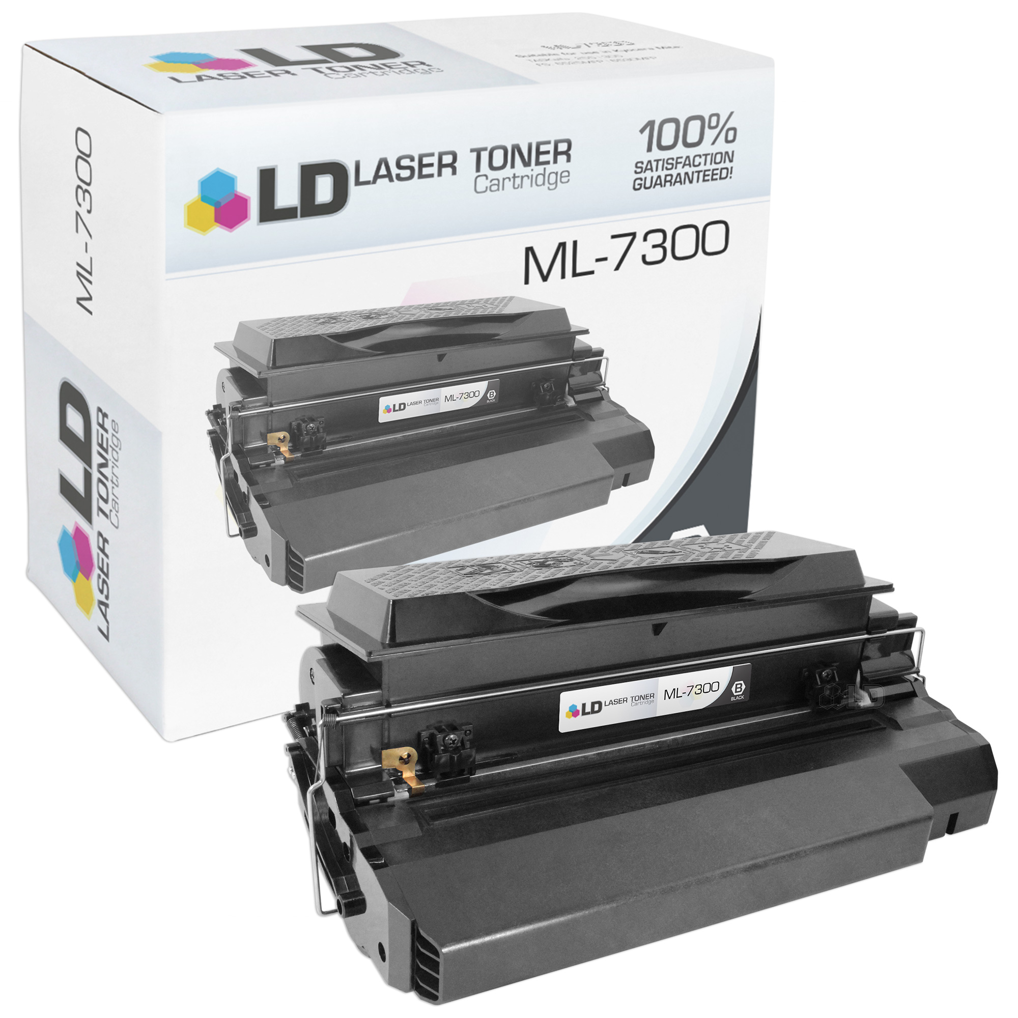 LD Remanufactured Samsung ML-7300DA Black Laser Toner Cartridge for ML-7300, and ML-7300N Printers
