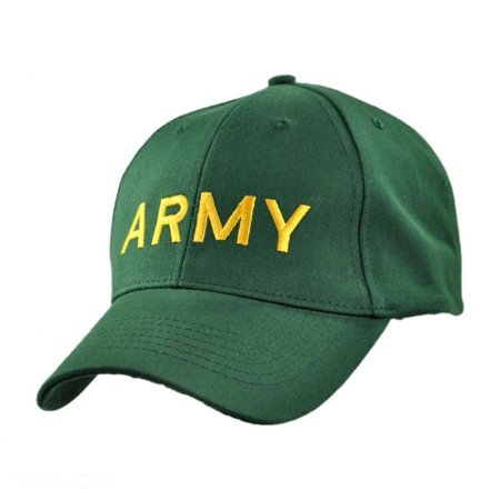 Army Snapback Baseball Cap - ADJUSTABLE - Green - Walmart.com 0ce786b219d
