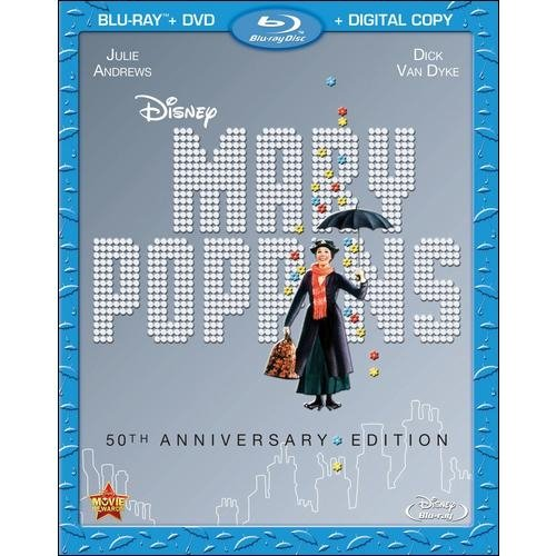 MARY POPPINS 50TH ANNIVERSARY EDITION (BLU-RAY/DVD/DC/2 DISC)