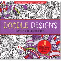 Doodle Designs Artists Coloring Book Other