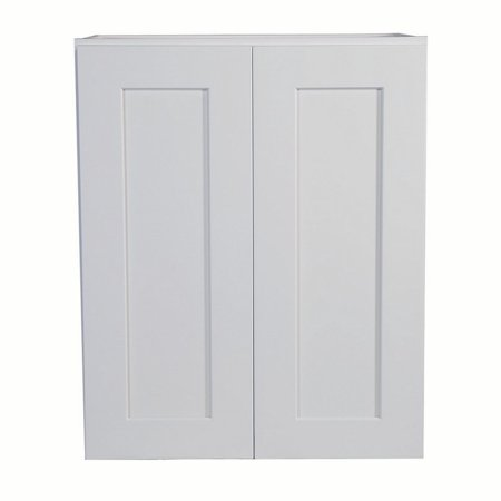 Design House 561571 Brookings Unassembled Shaker Tall Wall Kitchen Cabinet 24x24x12, White