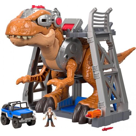 Imaginext Jurassic World Jurassic Rex - T Rex Model