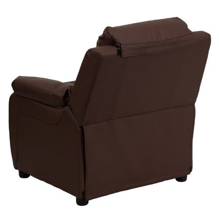 flash furniture bt 7985 kid brn lea gg deluxe heavily padded