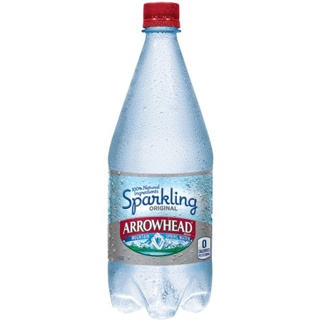 Arrowhead Original Sparkling Mountain Spring Water  33 8 Fl Oz
