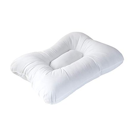 DMI Stress Ease Allergy Free Orthopedic Bed Pillow, Provides Relief from Head and Neck Injuries, Breathe Easier, Great for Any Sleep Position, White Sleep Allergy Free Pillow