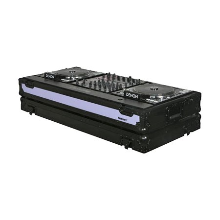 Odyssey FFX12CDJWBL Dual Large Format Tabletop CD/Digital DJ Coffin ()