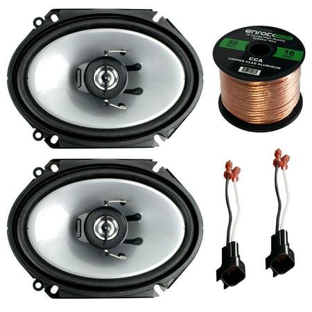 Car Speaker Combo Of 2x Kenwood KFCC6866S 6x8