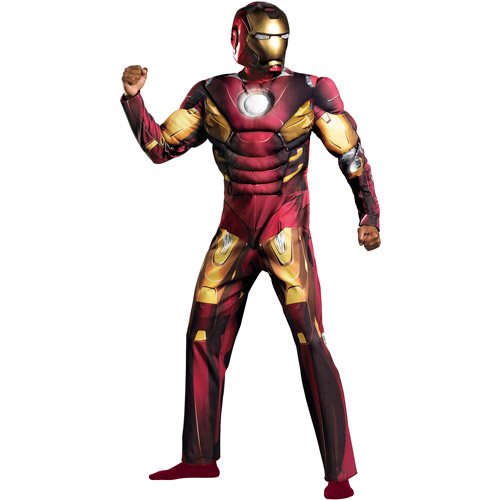 Iron Man Mark VII Avengers Classic Muscle Adult Halloween Costume