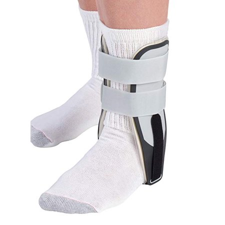 Mueller Stirrup Ankle Brace, White, One Size Fits Most (Fits right or left ankle)