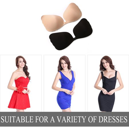 Invisible Chest Pad Sticker Front Buckle Breathable Push Up Chest Paste - image 6 de 6