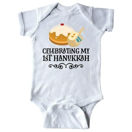 (1st Hanukkah Childs Dreidel Infant Creeper)