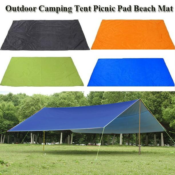 10x10ft Rain Tarp Shelter Sun Sunshade Awning Canopy Beach Camping Tent Walmart Com Walmart Com