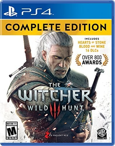 The Witcher 3: Wild Hunt Complete Edition for PlayStation 4 by WARNER BROS GAMES