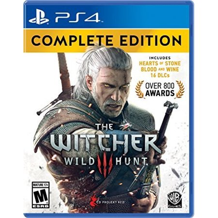The Witcher 3  Wild Hunt   Complete Edition For Playstation 4