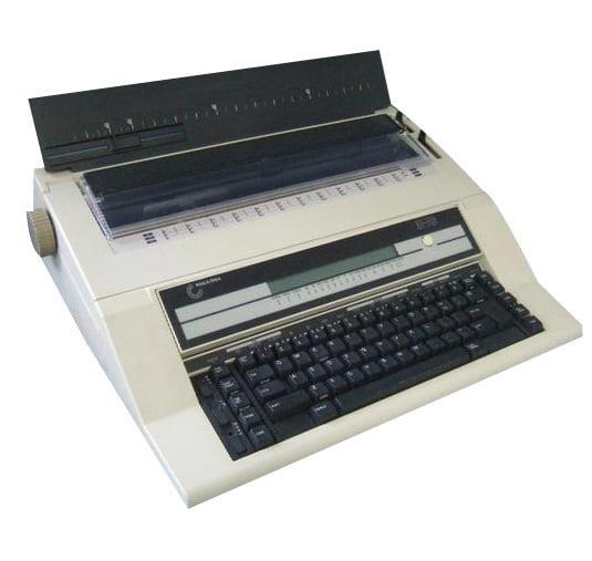 Nakajima AE-740 Electronic Typewriter w/ Memory and Display