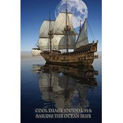 Cool Image Journal #14: Sailing the Ocean Blue (Blank Pages): 200 Page Journal