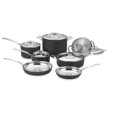 - Cuisinart Multiclad Unlimited Dishwasher-Safe Hard Anodized 12 Pc. Set