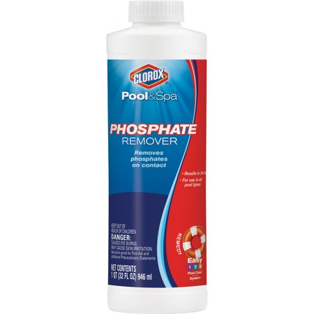 Clorox Pool Spa Phosphate Remover 32 Oz For Pool Use Best All Cleaning Tools And Chemicals