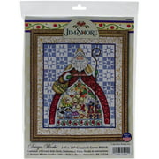 "12 Days-Jim Shore Counted Cross Stitch Kit, 14"" x 16"", 14-Count"