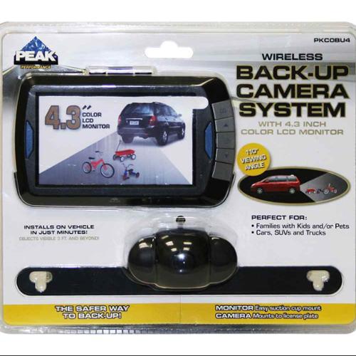 4 3 In Wireless Back Up Camera Kit Walmart Com