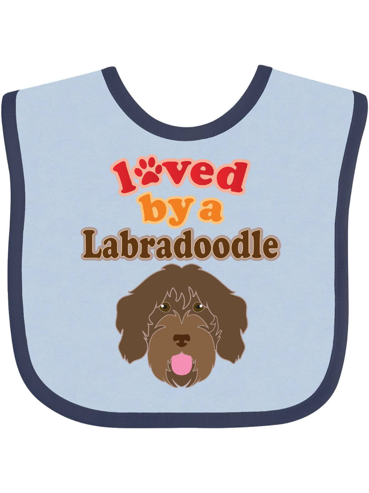 Labradoodle Dog Lover Baby Bib