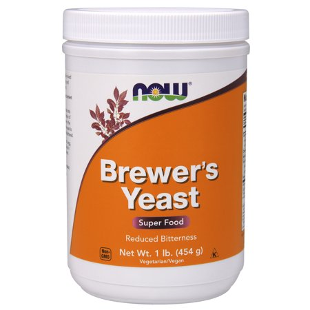 NOW Supplements, Brewer's Yeast Powder with naturally occurring Protein and B-Vitamins, (Best Brewers Yeast For Milk Production)