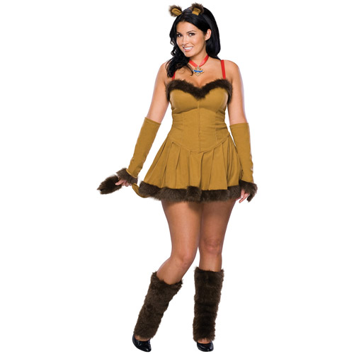 Cowardly Lion Adult Halloween Costume - One Size