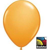11-inch Qualatex Balloons, Standard Orange , 2PK