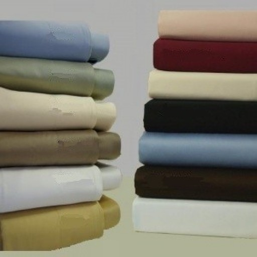 Royal Hotel Brushed Microfiber 95gsm King/ Cal King Waterbed Sheet Set- Unattached
