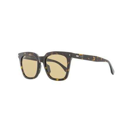 Fendi Rectangular Sunglasses FF0216FS 08670 Dark Havana 53mm 216