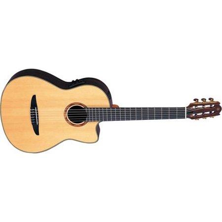 Yamaha NCX1200R Acoustic-Electric Classical Guitar (Yamaha C40ii Bl Classical Guitar Limited Edition Black)