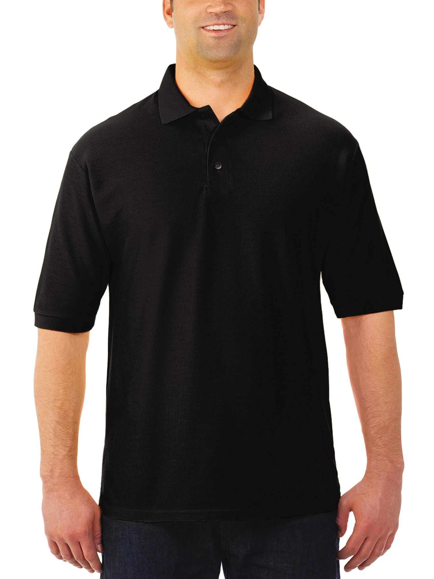 Easy Care Big Men's Short Sleeve Polo