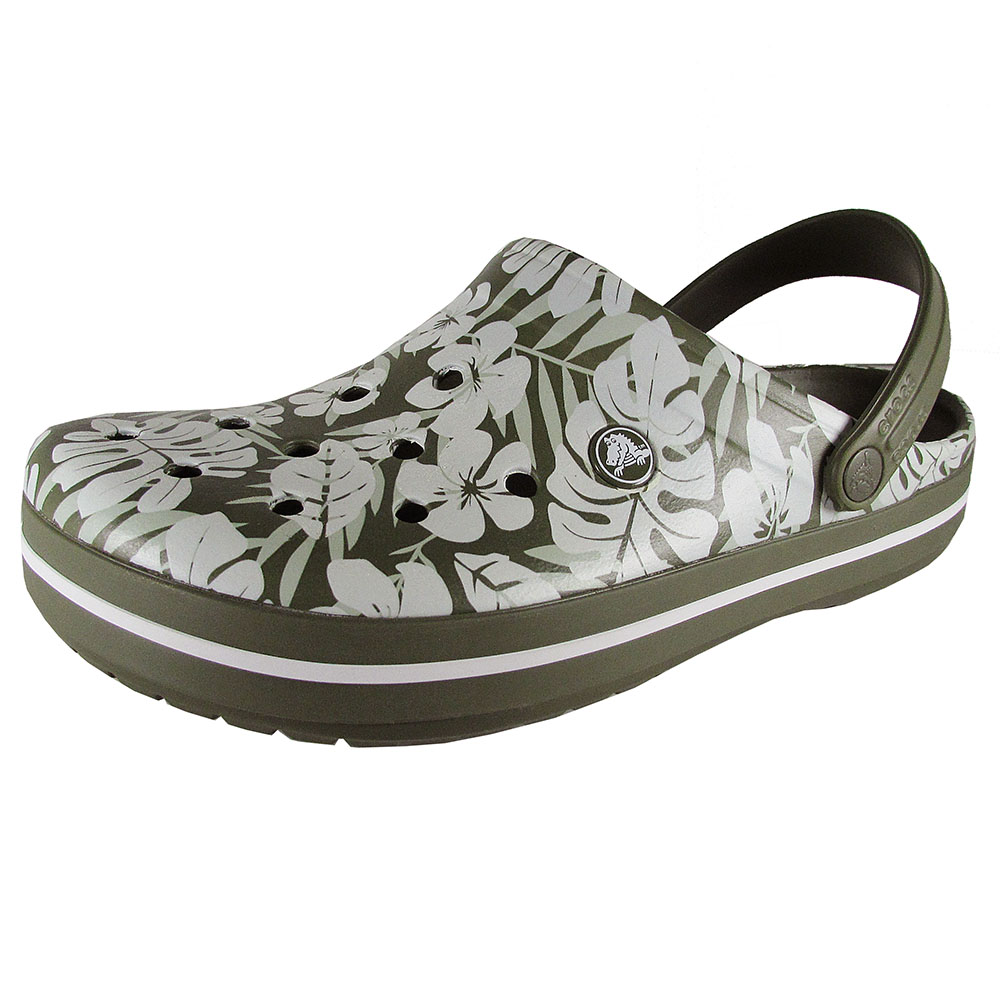 Crocs Crocband Tropical Print Clogs by Crocs