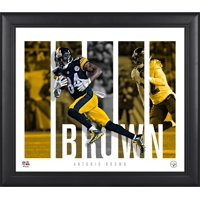"""Antonio Brown Pittsburgh Steelers Framed 15"""" x 17"""" Player Panel Collage"""