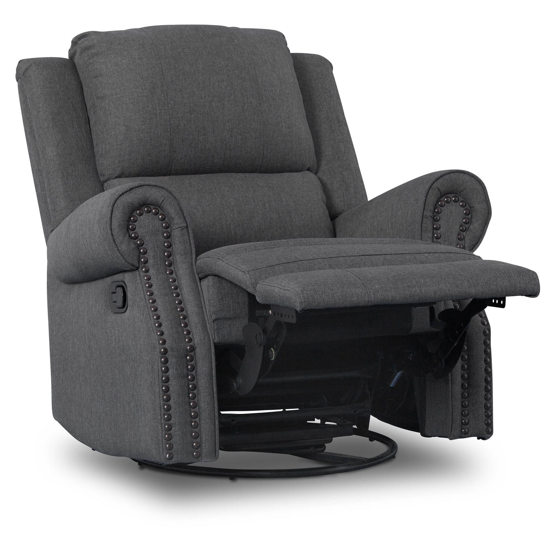 Delta Children Drake Nursery Glider Swivel Recliner