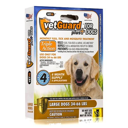 VetGuard Plus Flea and Tick Control for Large Dogs