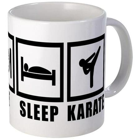 CafePress - Eat Sleep Karate Mug - Unique Coffee Mug, Coffee Cup CafePress