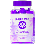 Best Pill For Hangovers - Purple Tree Hangover Cure & Prevention Pills | Review