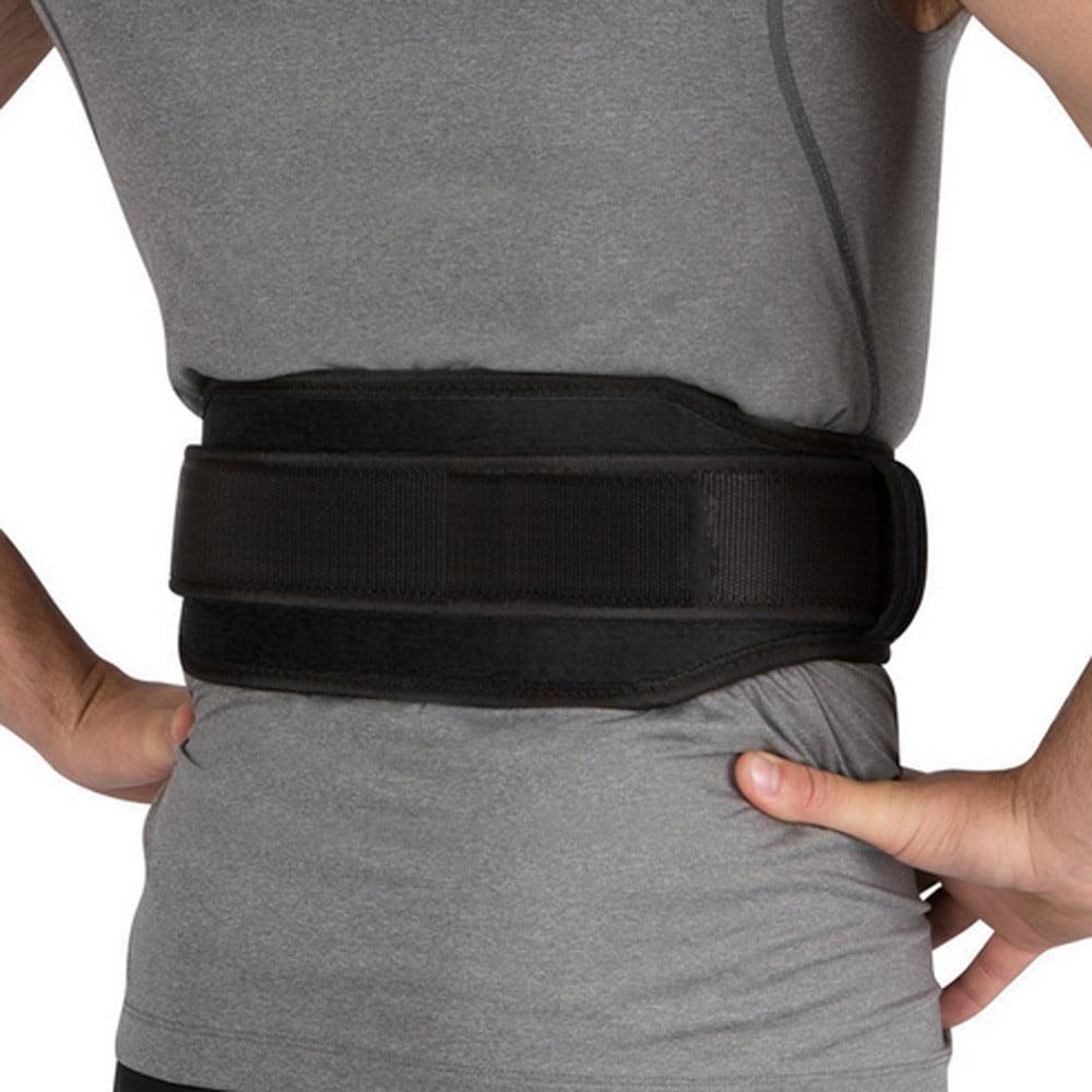 Mosunx Gym Weight Lifting Belt Waist Back Support Strap Power Dip Training Fitness