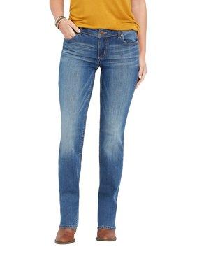 Medium Wash Straight Jean