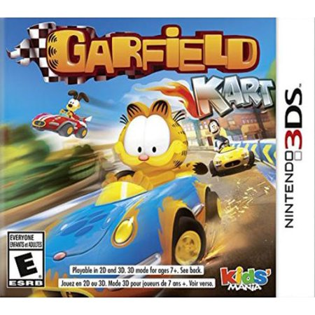 Garfield Halloween Game 1 (Square Enix Garfield Kart - Racing Game - Nintendo 3ds)