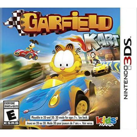 Garfield Halloween Games Online (Square Enix Garfield Kart - Racing Game - Nintendo 3ds)