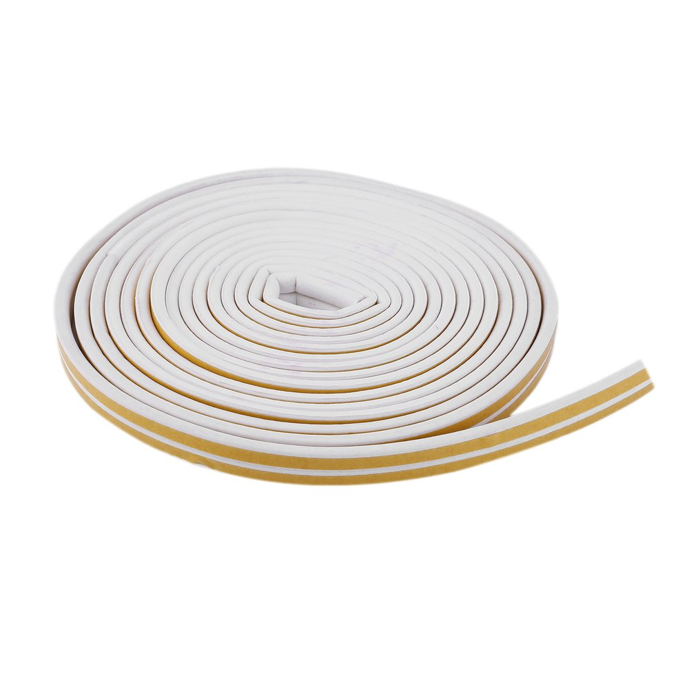 12m Foam Draught Excluder D Type Seal Strip Insulation for Door Window New