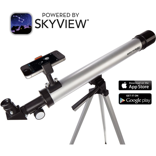 Space Navigator App-Enhanced Star-Finding Telescope