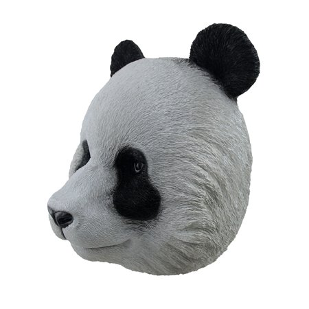 Giant Panda Head Wall Mount Sculpture - image 1 of 3