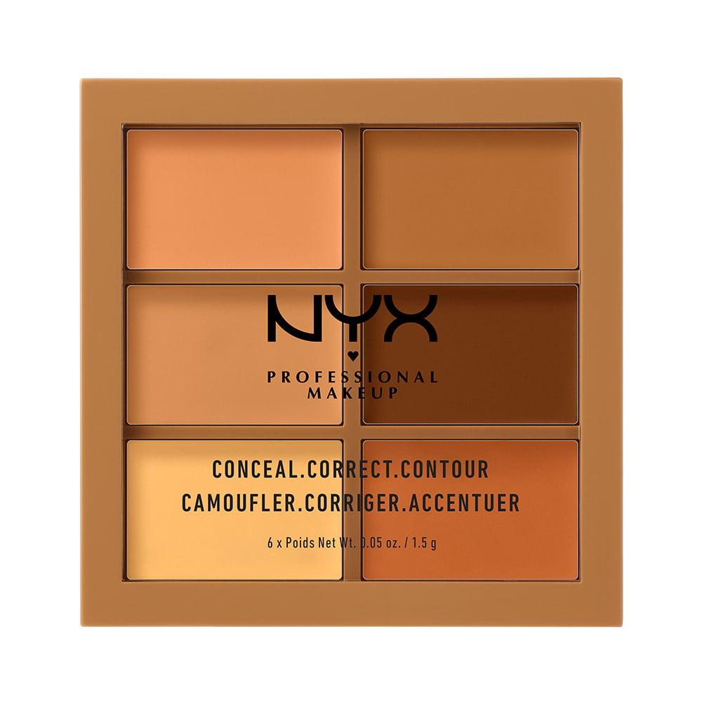 NYX Professional Makeup Conceal, Correct, Contour Palette, Deep