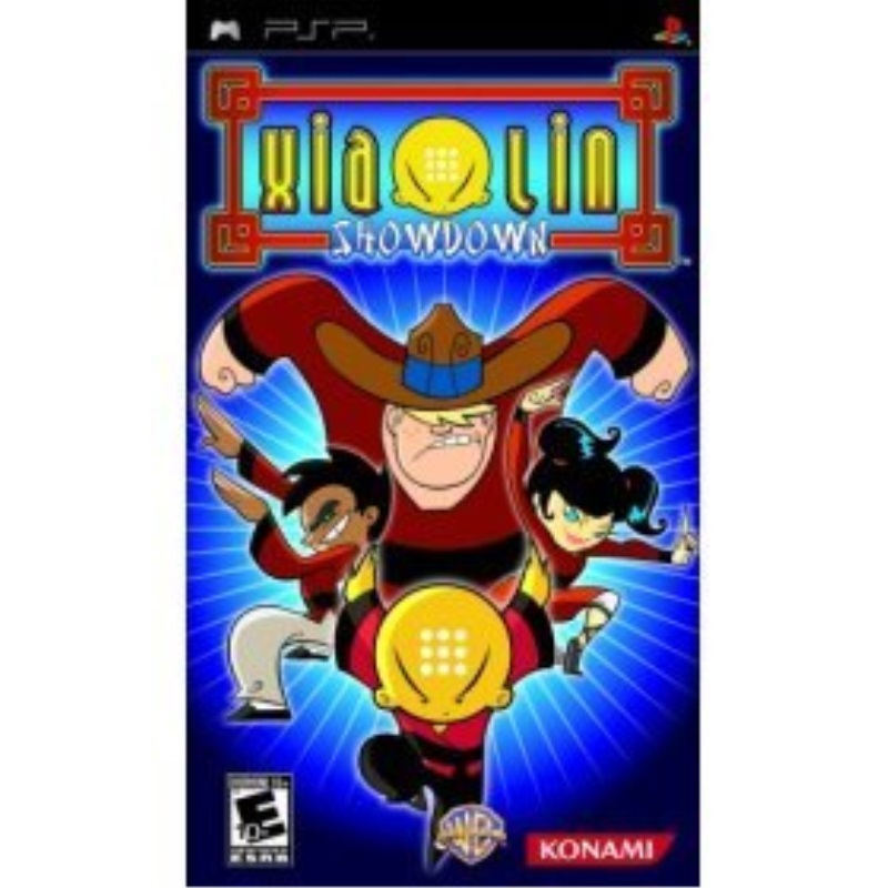 Sony PlayStation PSP Xiaolin Showdown Video Game